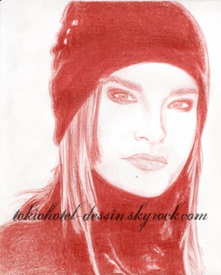 Bill Kaulitz by cindy-dessin